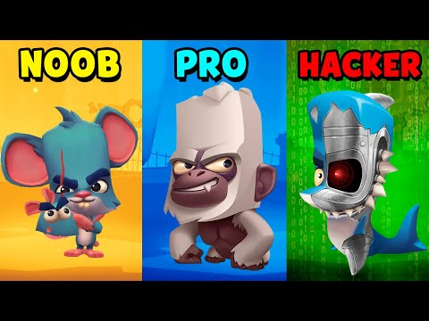 NOOB vs PRO vs HACKER - Zooba