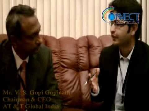Mr. V. S. Gopi Gopinath, Chairman & CEO, AT & T Global India