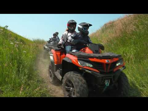2019 CFMOTO ZForce 500 Trail in Slovan, Pennsylvania - Video 1