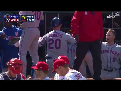 Pete Alonso's First Career Hit