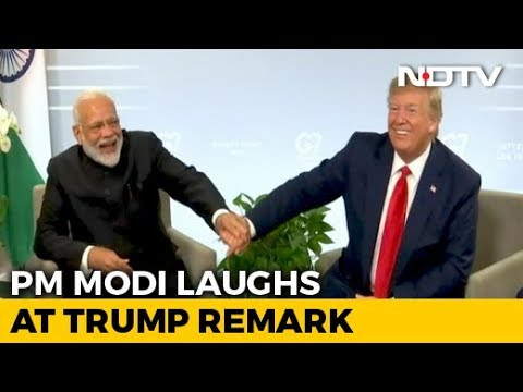 """""""He Speaks Very Good English But..."""": PM Modi Laughs At Trump Remark"""