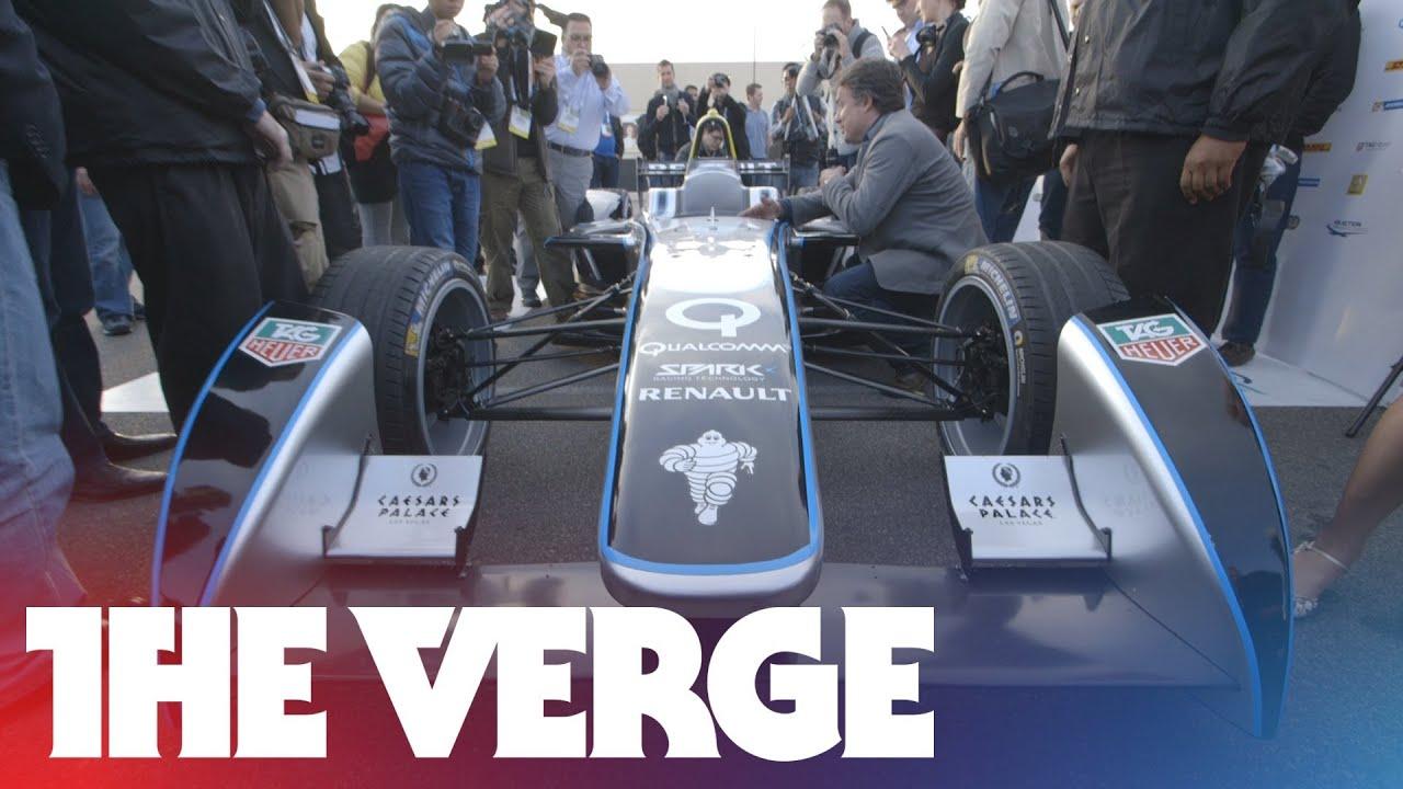 The first Formula E electric race car thumbnail