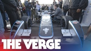 The first Formula E electric race car thumbnail