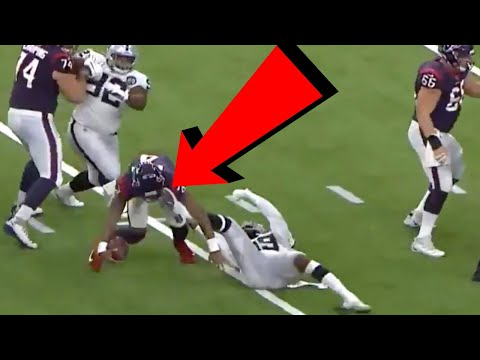 9 NFL Players Who Suffered a FREAK Injury and Still Scored a Touchdown…ON THE SAME PLAY