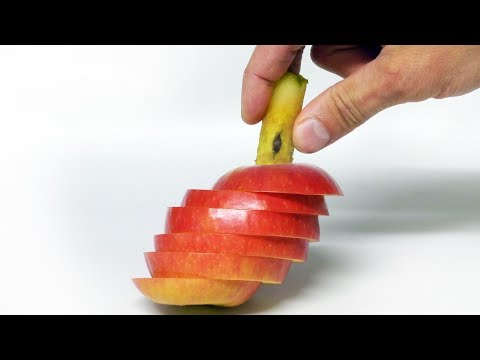 Easy Apple Trick - Back to School Lunchbox
