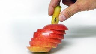 Easy Apple Trick - Back to School Lunchbox - Video Youtube