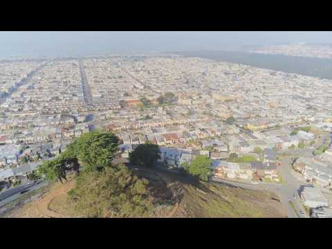 Parrot Anafi Footage Of San Francisco Grand View Park 2018