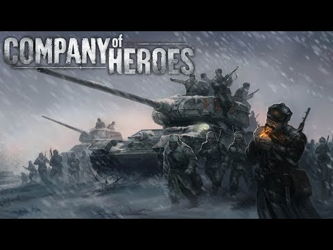 Company of Heroes: Tales of Valor | Random CZ Gameplay | Bukk a Větřík [Twitch záznam]
