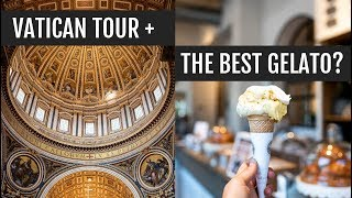 Vatican tour + the best gelato in Rome? | Italy Day 11