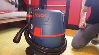 DESEMPAQUETADO ASPIRADOR BOSCH GSL 20L SFC - Unboxing vacuum cleaner Bosch GSL 20L SFC