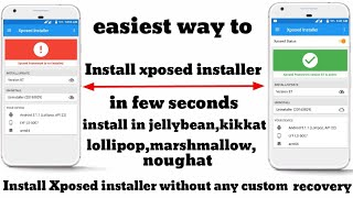 Install Xposed Installer Lollipop Without Any Custom Recovery