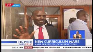 Curriculum wars between Prof. Magoha and KNUT