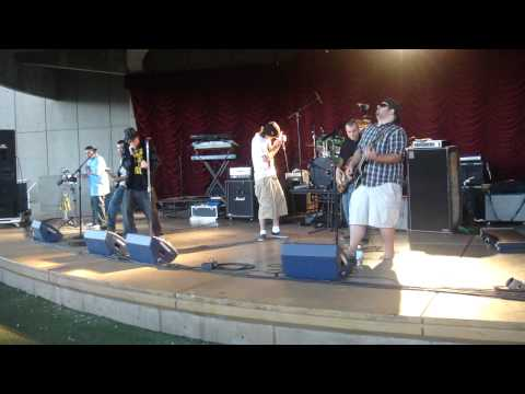 "Tierra Buena live at ""Rising in the Fall"" song called ""Don't Call the Law"" feat. HighDro"