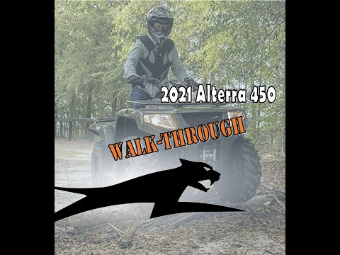 2021 Arctic Cat Alterra 450 in Bismarck, North Dakota - Video 1
