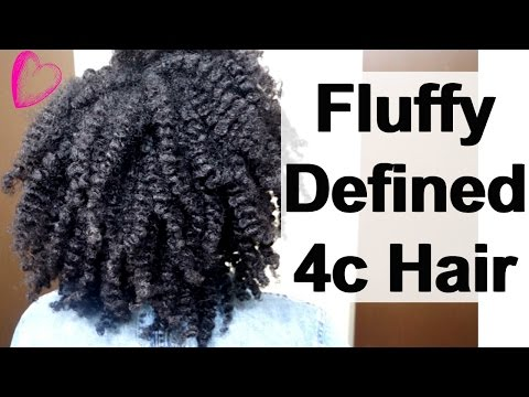 A Defined Flat Twist Out Tutorial on 4c Natural Hair in 5 Easy Steps | Hairstyle