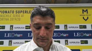 Modena Volley-Monza 3-1: le parole di Giani e Rossini