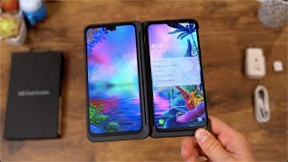 LG G8X ThinQ Unboxing: Dual Screens!