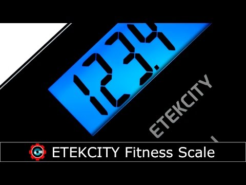 Unboxing ETEKCITY Personal Fitness Scale