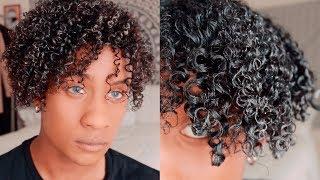 Men's Curly Hair Routine Super Defined Curls (3C/4A) | PrettyBoyFloyd