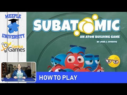Subatomic: An Atom Building Game Board Game – How to Play & Setup in 22 Minutes