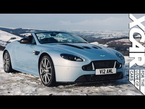 Aston Martin V12 Vantage S Roadster: Topless in the Snow - XCAR