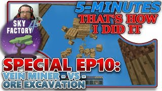 how to vein mine in skyfactory 3 - Free video search site - Findclip Net