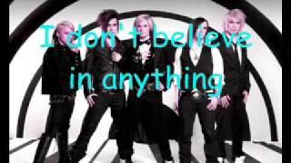 Cinema Bizarre - I don't believe (with lyrics)
