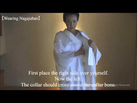 KITSUKE/ How to wear Kimono 【Part.1】----putting on Japanese undergarment( ^∀^)