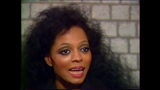 Diana Ross Rare Interview 1985 about Michael Jackson and Swept Away