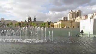 preview picture of video 'Beersheba, Israel, Carasso Science Park - באר שבע, ישראל, פארק קרסו למדע - מזרקה מדעית 1'