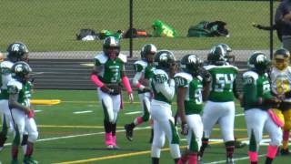 preview picture of video 'Westside Steelers vs. Detroit Spartans (C-Team) Game Highlights (10-18-2014)'