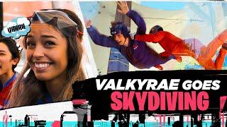 Valkyrae Takes Fortnite World Cup Winners Indoor Skydiving!