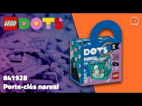Vidéo LEGO Dots 41928 : Porte-clés narval
