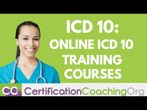 Learn ICD-10 Online — ICD-10 Courses for CEUs - YouTube