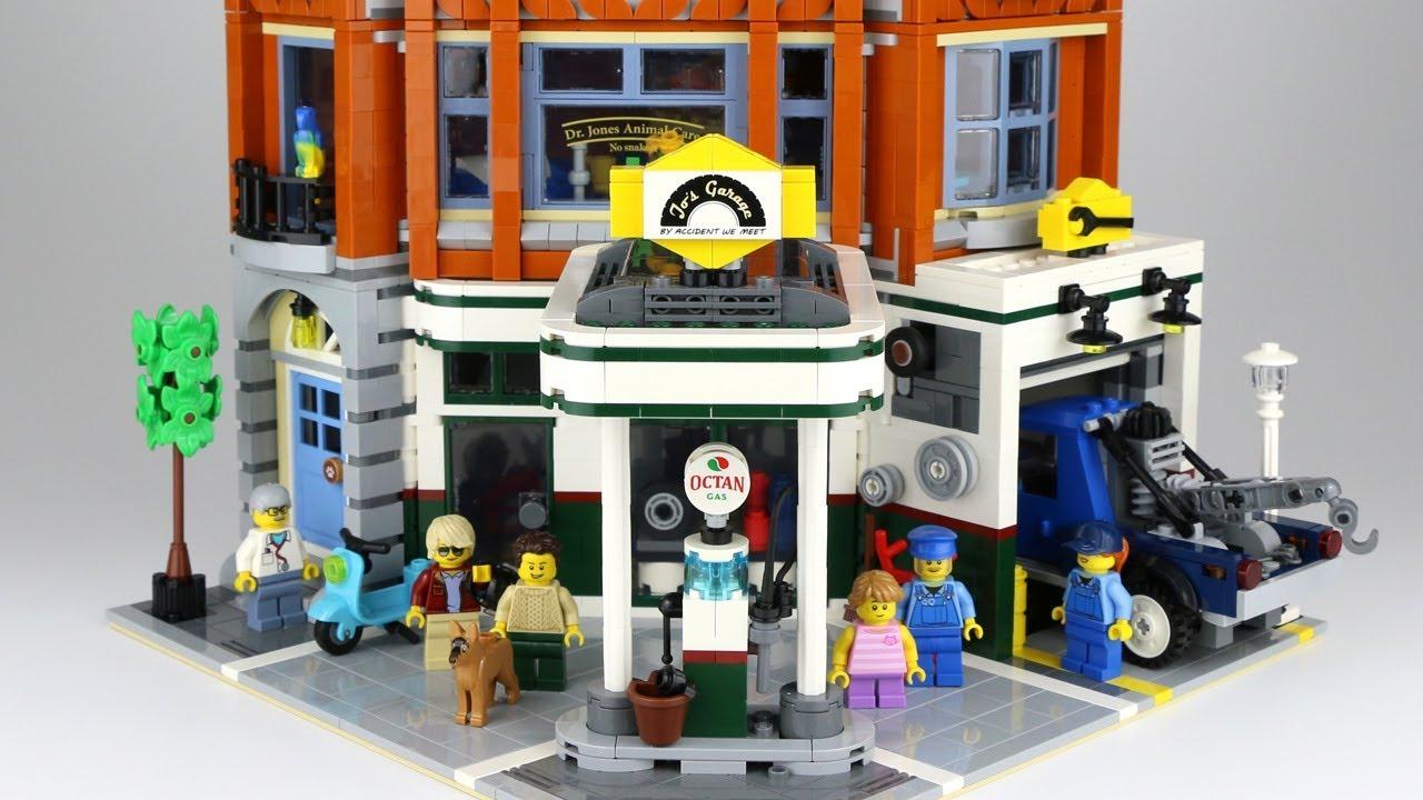 LEGO Creator Expert Corner Garage 10264: All details!