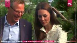 الأميرة كيت تستعرض مهارتها في تنسيق الحدائق بمعرض تشيلسي للزهور