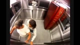ужас в лифте розыгрыш 2