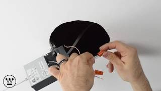 Overview installation of a Slim Recessed LED Downlight Unit