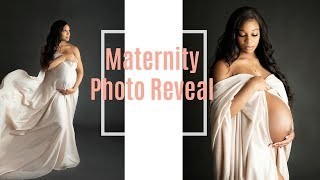 Maternity Photoshoot | Photo Reveal + How I Felt About My Pregnancy Body Changes | 39 Weeks Pregnant