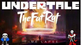 Undertale the fat rat timelapse - AMV