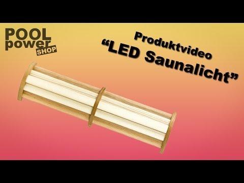Sauna LED Farblicht - Saunabeleuchtung