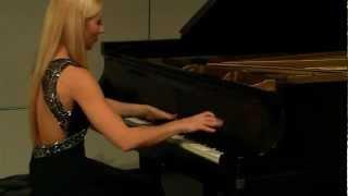 Natalia Kartashova plays Liszt - La Campanella