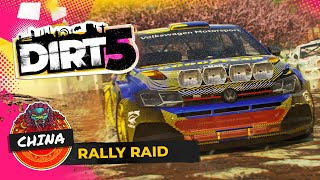 Gameplay Rally Raid Cina