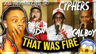 Fivio Foreign, Calboy, 24kGoldn and Mulatto's 2020 XXL Freshman Cypher | Trizzy Tre REACTION!!!