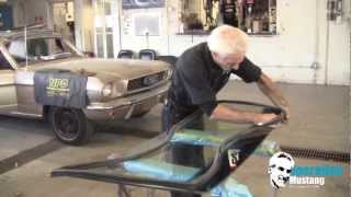 Operation Mustang  windshield install made easy