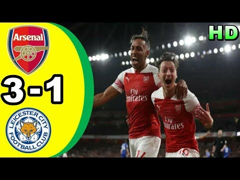 ARSENAL 3-1 LEICESTER CITY | All Goals & Highlights Premier League 23 Oktober 2018