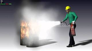 How to Operate Fire Extinguisher - Fire Safety Training