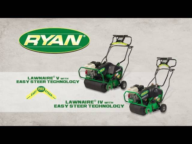 Lawnaire Aerators with Easy Steer Technology
