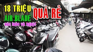 Chợ xe máy cũ lớn nhất Hà Nội | Hanoi City Tour