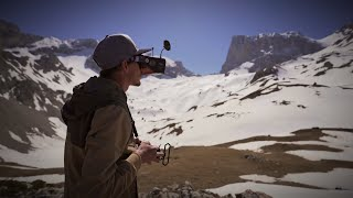 FLYING THROUGH THE FRENCH ALPS ! (CINEMATIC FPV) 4K
